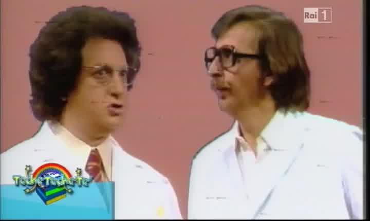 Gianfranco D'Angelo e Gianni Magni in