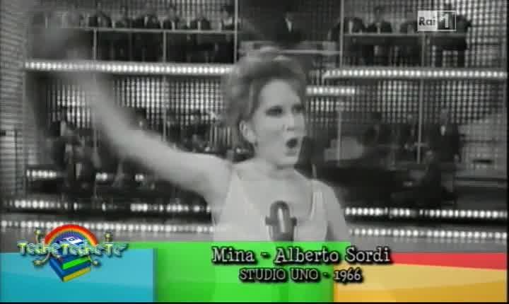 Mina, Alberto Sordi e Totò in