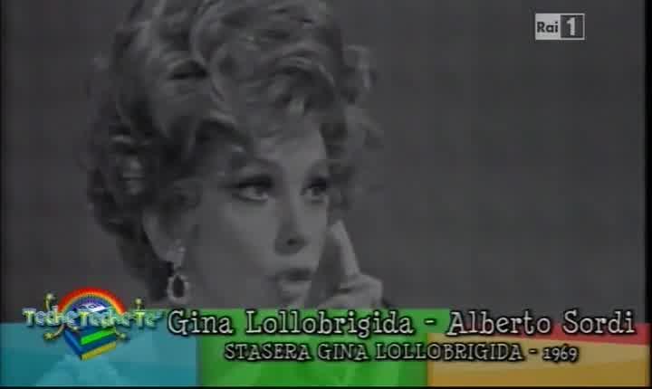 Alberto Sordi e Gina Lollobrigida