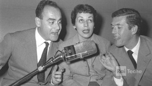 Franca Valeri, Vittorio Caprioli e Luciano Salce