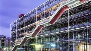 Centre Pompidou, Renzo Piano