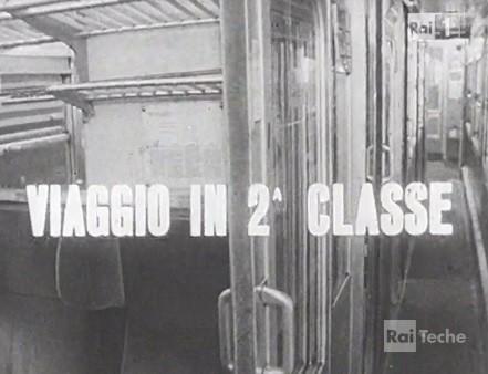 Viaggio in seconda classe