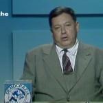 Paolo Villaggio - Tribuna politica, 1987