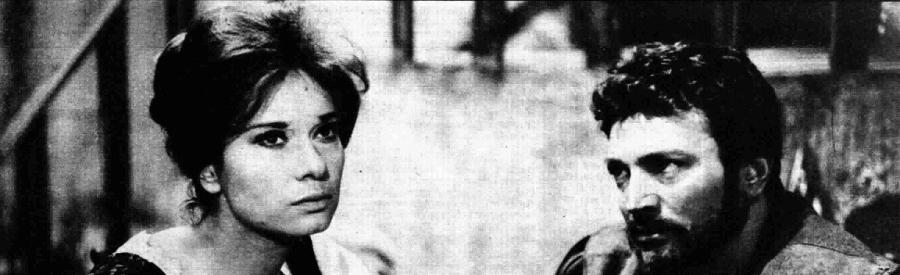 Lea Massari e Osvaldo Ruggeri nella Marianna Sirca di di Grazia Deledda