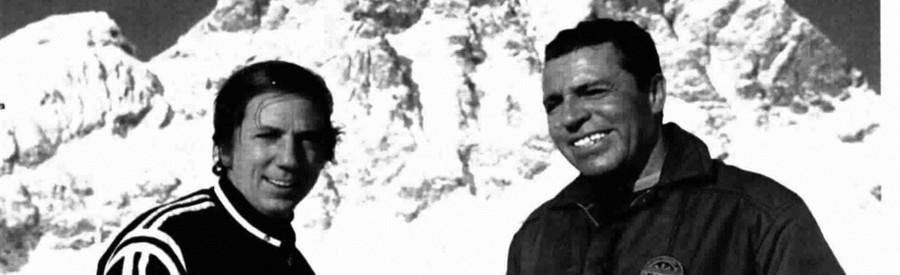 Mike Buongiorno e Achille Compagnoni - Sfida alla montagna