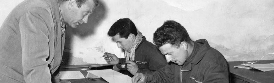 La scuola popolare primaria per adulti istituita nel dopoguerra
