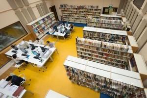 Interno Bibliomediateca Torino