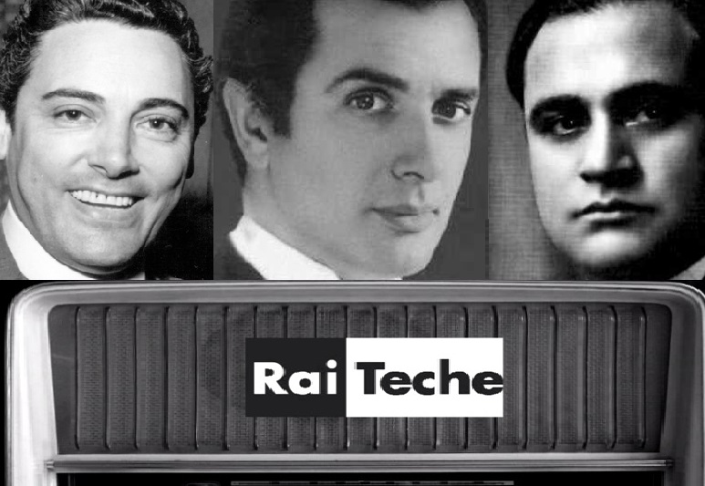 Tre tenori leggendari alla Rai