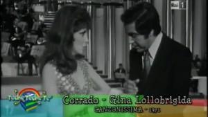 Corrado e Gina Lollobrigida