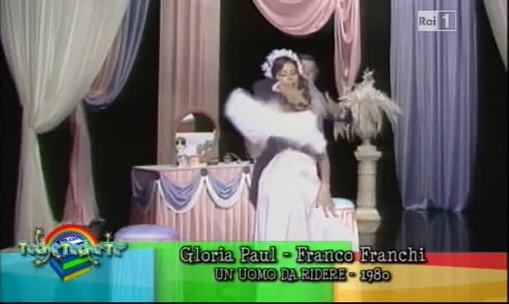 Franco Franchi e Gloria Paul