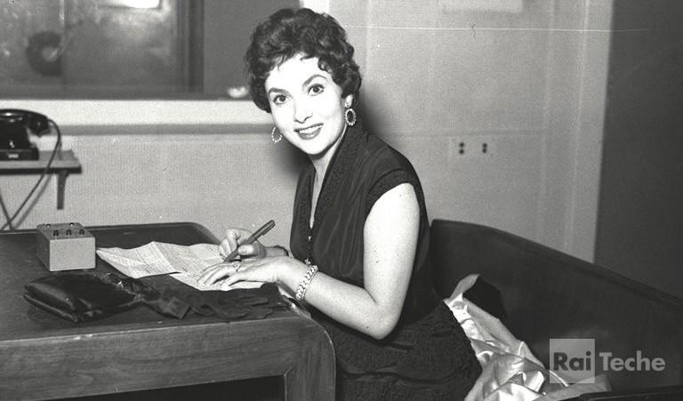 4 luglio 1927 Gina Lollobrigida