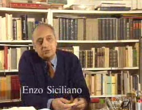 Franco Scaglia e Enzo Siciliano