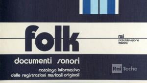 Archivio del Folclore musicale italiano