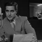 Corrado annuncia in diretta radiofonica la fine della seconda guerra mondiale