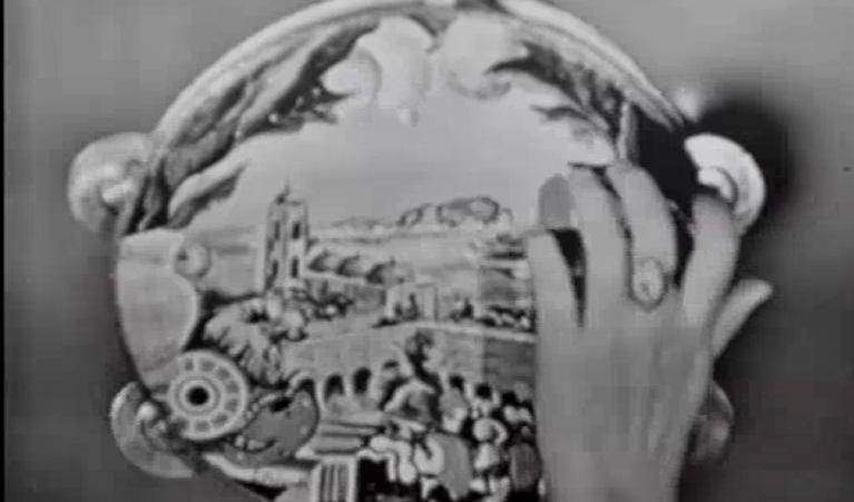 Festa in Sicilia: lo spettacolo della compagnia Opra dei Pupi di Francesco Sclafani viene trasmesso per intero sul Canale Nazionale nel giugno del 1957.