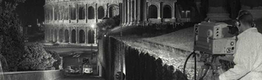 La società italiana negli anni 50 - Roma di notte