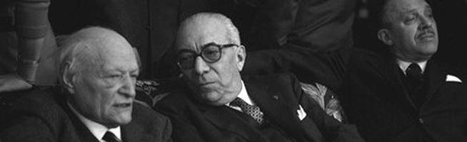 Arnoldo Mondadori e Giuseppe Ungaretti