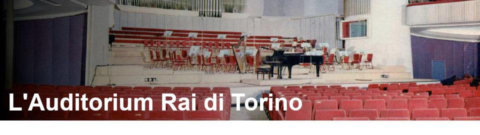 L Auditorium Rai di Torino - Rai Teche
