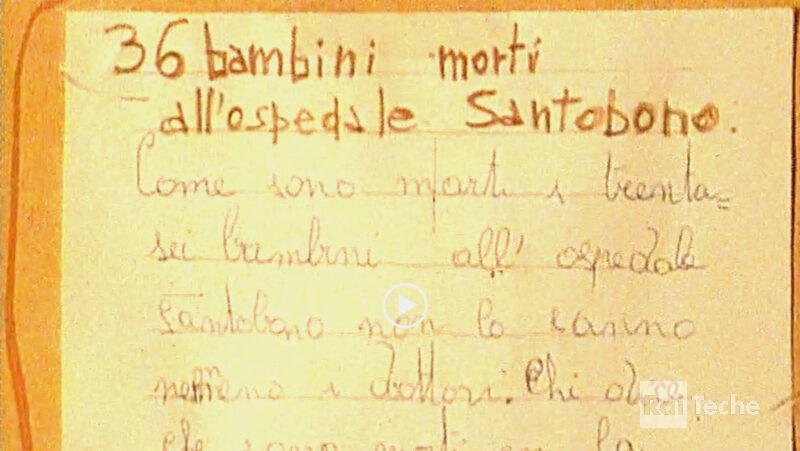 28 agosto 1973 l'epidemia di colera a Napoli