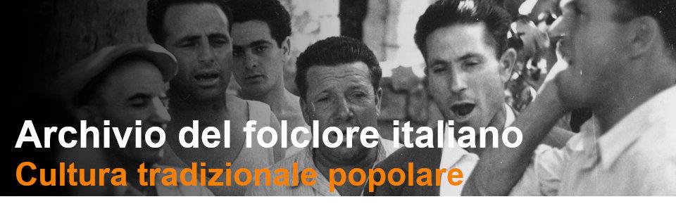 Il folclore dalle regioni d Italia - Rai Teche Pubblicazioni storiche