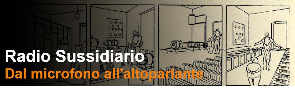 La Radio Dal Microfono All Altoparlante - Rai Teche Pubblicazioni storiche