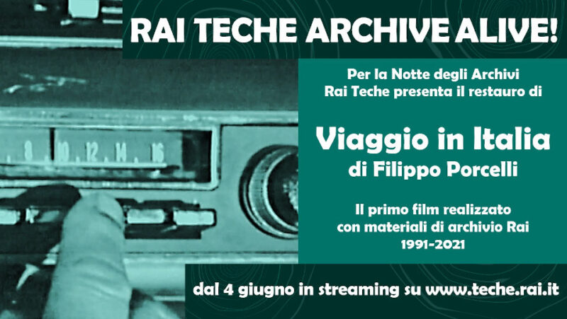 Viaggio in Italia, 1991 Archive alive Rai Teche