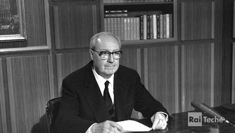 Giuseppe Saragat il giuramento