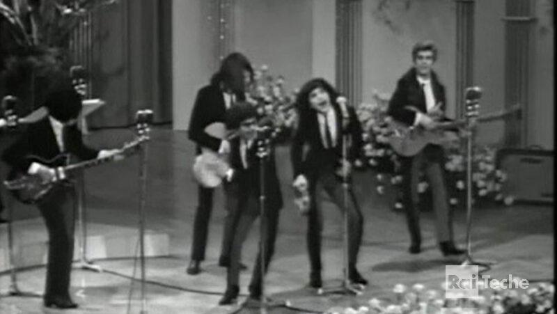 Gli inediti di Rai Teche I ribelli al Festival di Sanremo 1966