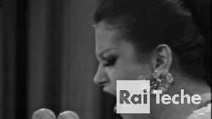 Gli inediti di Rai Teche Milva al Festival di Sanremo 1966