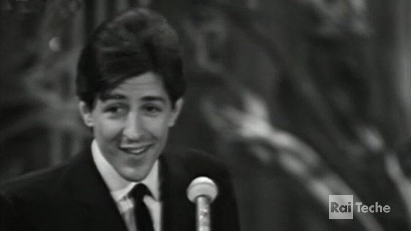 Gli inediti di Teche Rai Giorgio Gaber al Festival di Sanremo, 1966