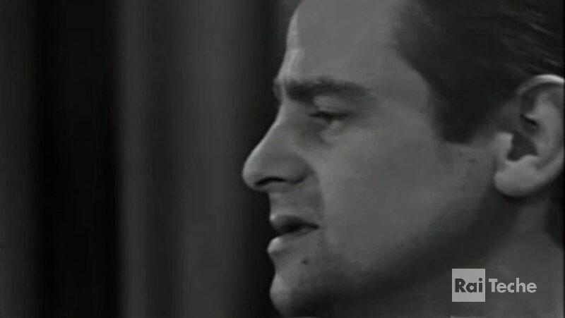 Gli inediti di Teche Rai Sergio Endrigo al Festival di Sanremo, 1966