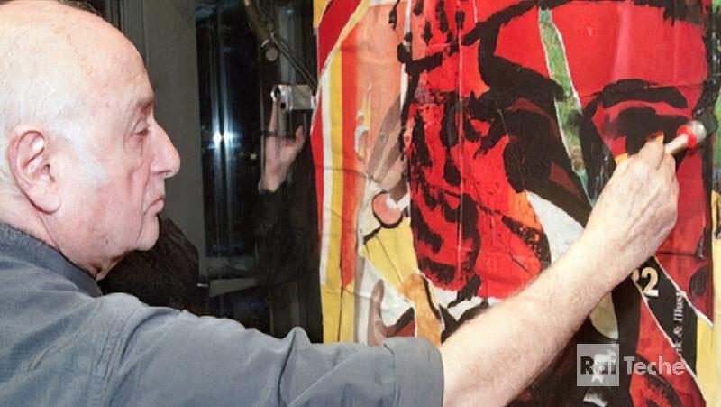 Mimmo Rotella, l artista del décollage - Rai